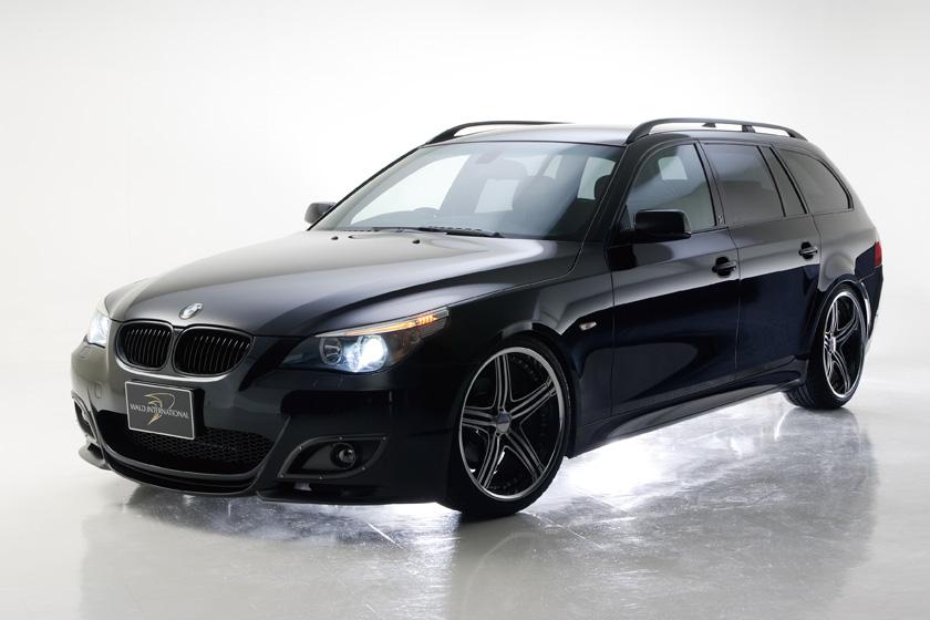 BMW E60 5シリーズ ツーリング バンパータイプ '04y~ フロントバンパースポイラー ヴァルド SPORTS LINE M5 LOOK