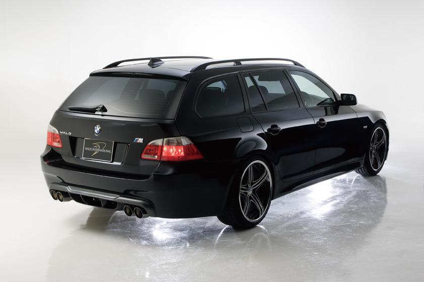 BMW E60 5シリーズ ツーリング バンパータイプ '04y~ リアバンパースポイラー ヴァルド SPORTS LINE M5 LOOK