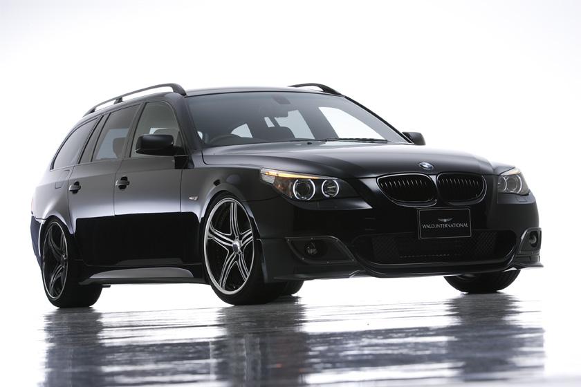 BMW E60 5シリーズ ツーリング ハーフタイプ '04y~ フロントハーフスポイラー ヴァルド SPORTS LINE M5 LOOK HALF TYPE