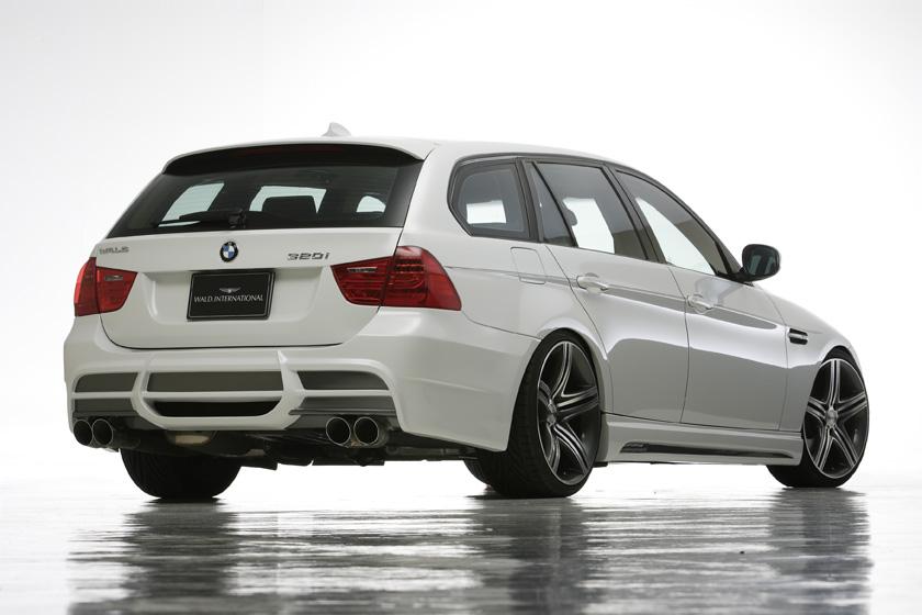 BMW E90/91 3シリーズ '08y~ リアバンパースポイラー ヴァルド SPORTS LINE