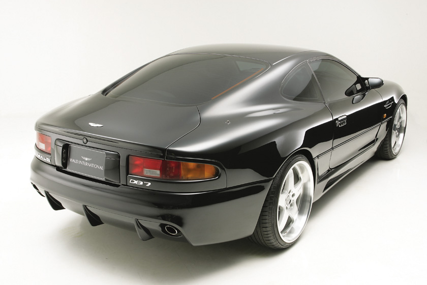 アストン マーティン クーペ DB7 '95y~'02y リアバンパースポイラー 塗装済 ヴァルド EXECUTIVE LINE