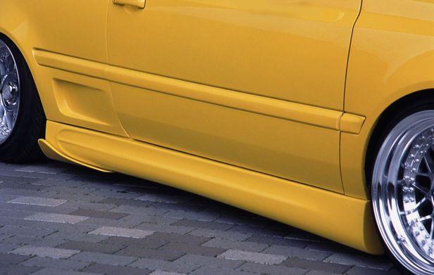 ゴルフ3 VW バージョン1 サイドカップスポイラー H.BOOMER ブレーン