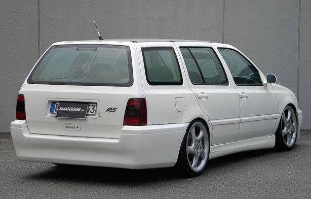 ゴルフ3 ワゴン VW リアハーフスポイラー 塗装済 H.BOOMER ブレーン