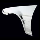 トレノ AE86 フロントオーバーフェンダー 塗装済 D-MAX