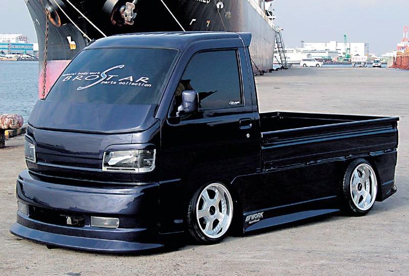 ハイゼットトラック S200系 H11/1-H16/11 サイドパネル 塗装済 BROSTAR/ブロスター