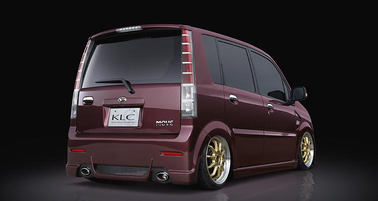 ムーヴカスタム L150系 MC後 テールアイライン 塗装済 KLC COMBAT