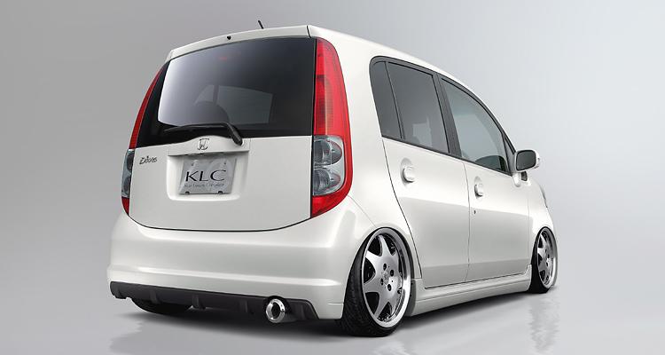 ライフ JB5~8 MC後 リアバンパースポイラー 塗装済 KLC Premium Final Edition