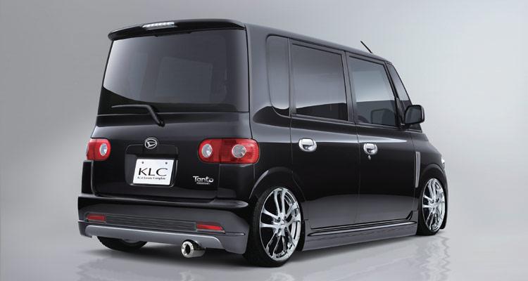 タント L350/L360 リアバンパースポイラー 塗装済 KLC Premium ANNIVERSARY MODEL