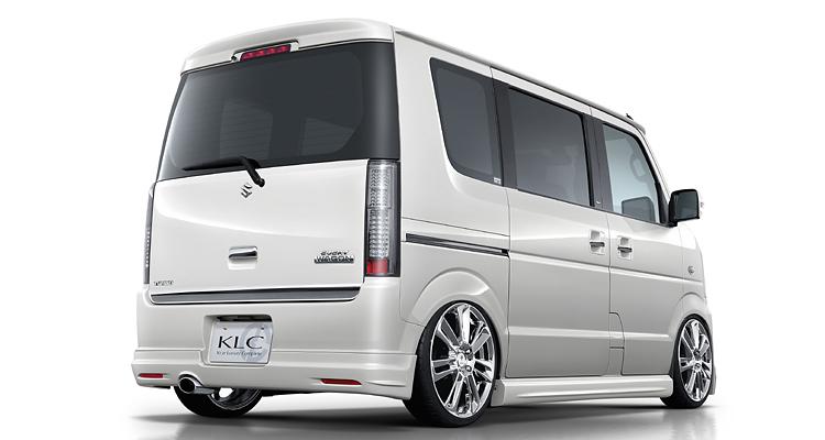 エブリィ DA64W リアハーフスポイラー 塗装済 KLC Premium STANDARD MODEL V2