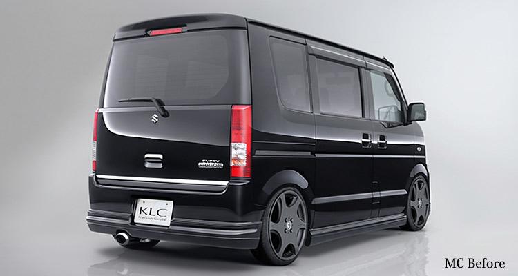 エブリィ DA64W リアハーフスポイラー 塗装済 KLC Premium STANDARD MODEL
