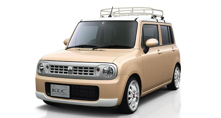 ラパン HE22S ヘッドライトカバー 塗装済 KLC Confiture COLLABORATION MODEL