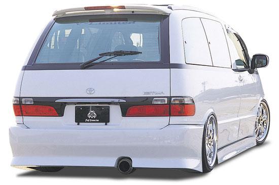 エスティマ TCR10/20 リアバンパースポイラー 塗装済 FINAL KONEXION(ファイナルコネクション)