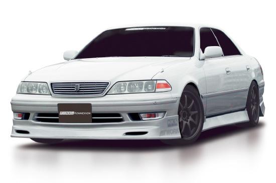 マーク2 100系 ZEROシリーズ サイドスポイラー 塗装済 FINAL KONEXION(ファイナルコネクション)