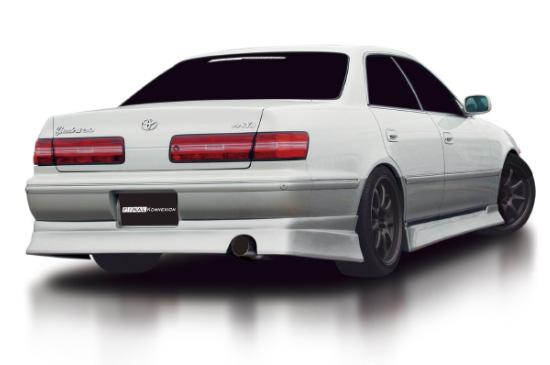 マーク2 100系 ZEROシリーズ リアハーフスポイラー 塗装済 FINAL KONEXION(ファイナルコネクション)