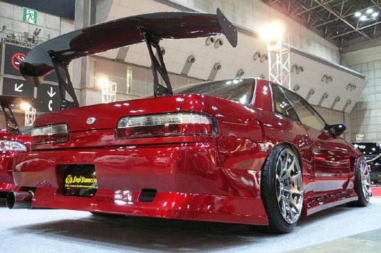 シルビア S13 タイプ2 リアバンパースポイラー 塗装済 FIRST CONTACTシリーズ FINAL KONEXION(ファイナルコネクション)