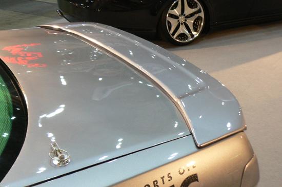 ローレル C35 メダリスト MC前 リアスポイラー 塗装済 FIRST CONTACTシリーズ FINAL KONEXION(ファイナルコネクション)
