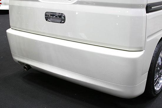 バモス MH リアバンパースポイラー 塗装済 FINAL KONEXION(ファイナルコネクション)