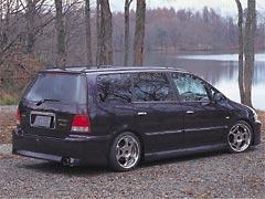 オデッセイ RA5 V6 リアバンパースポイラー 塗装済 PLATINUM ジアラ