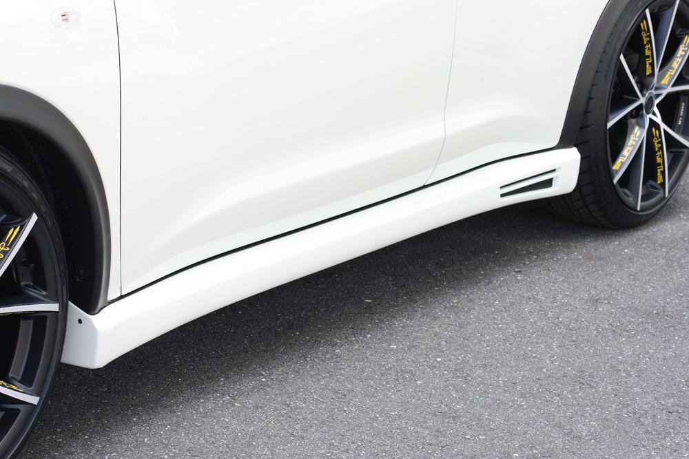 ジューク F15 サイドステップ 塗装済 LUV LINE/ラヴライン ゼウス