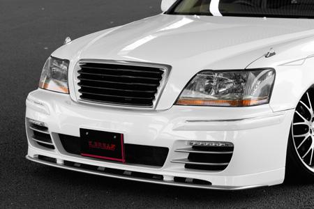 マジェスタ 17系 フロントグリル 塗装済 PLATINUM/プラチナム K-BREAK