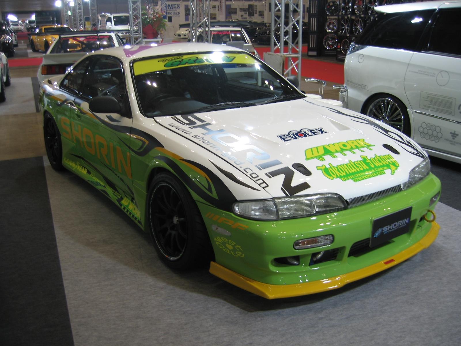 シルビア S14 前期 サイドステップ 塗装済 SHORIN/ショーリン