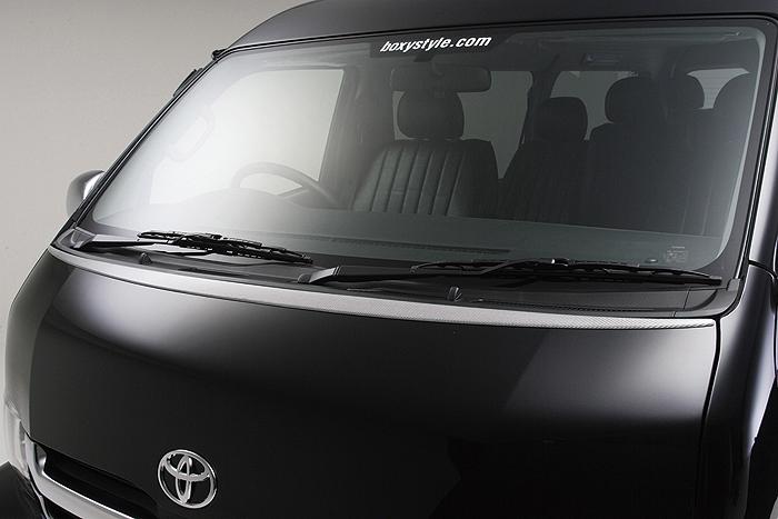 ハイエース 200系 1・2型 ワイド ボンネットエクステ BOXYSTYLE/ボクシースタイル