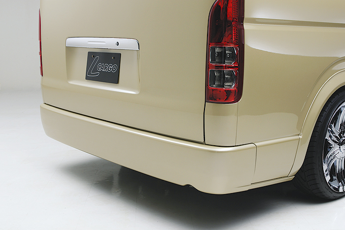 ハイエース 200系 3型 ワイド プレミアムリアバンパー BOXYSTYLE/ボクシースタイル