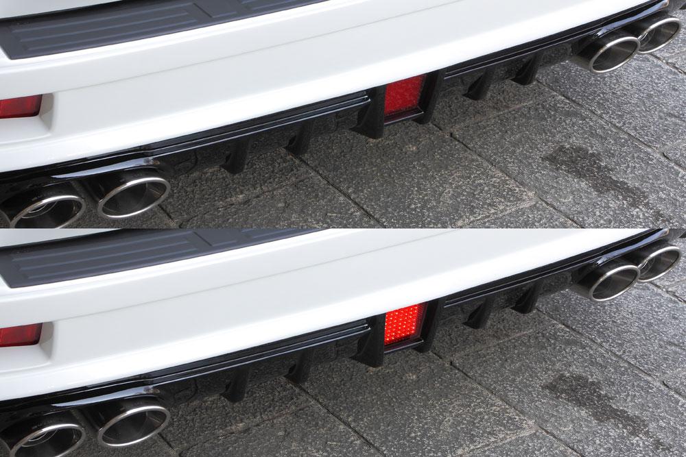 ランドクルーザープラド GRJ15#/TRJ15# 後期 LEDバックフォグランプ(B)キット ゼウス ラヴライン