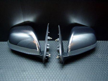 ハイエース 200系 S-GLクロームドアミラー 【手動格納/手動ミラー調整】 T's FACTORY/ティスファクトリー