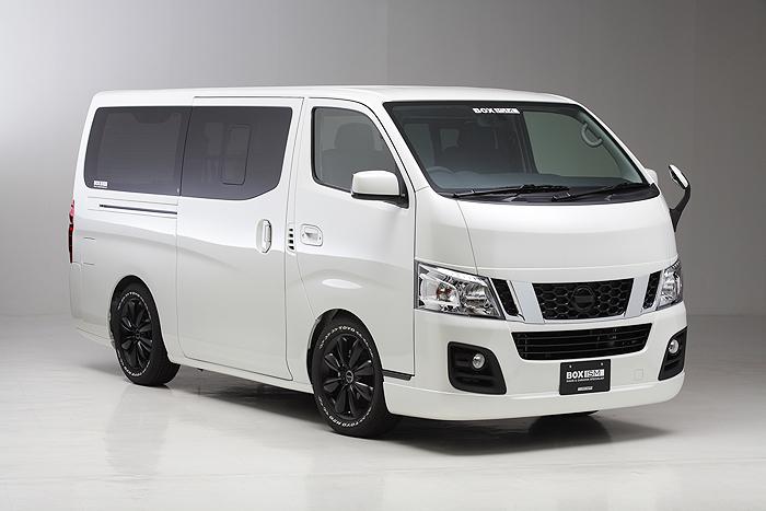 キャラバン NV350 ナロー用 サイドスポイラー(5ドア用、ロング用) 塗装済 ボクシースタイル