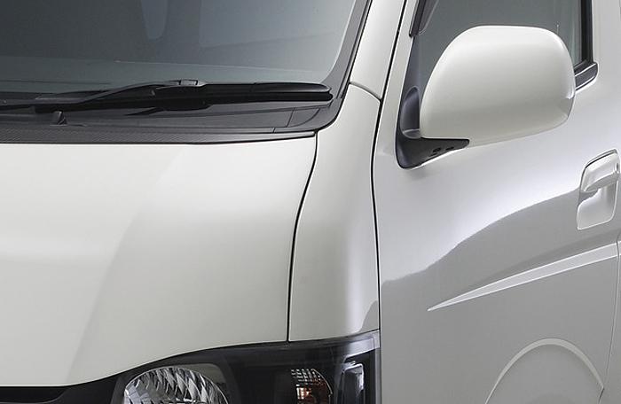 ハイエース 200系 標準/ワイド 全車種 コーナーパネル 塗装済 ボクシースタイル