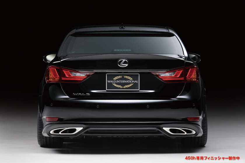 GS 250/350/450h GRL10/11/15 GWL10 リアスカート(250/350用) 塗装済 Executive Line WALD/ヴァルド