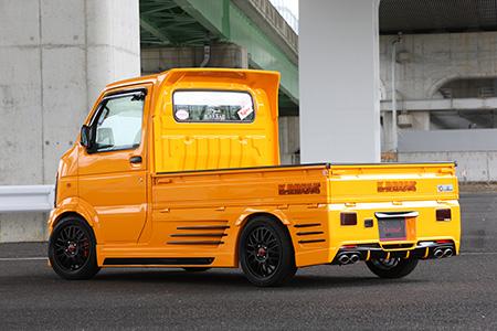 キャリイ DA63T リアバンパー(LEDリアマーカー付属) K-BREAK/ケイブレイク