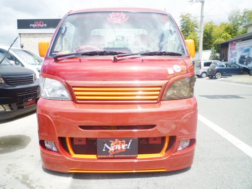 ハイゼットトラック 標準 S201P アイライン 塗装済 Novel 翔プロデュース