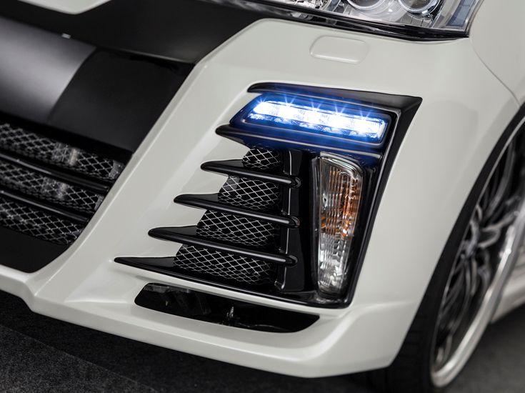 プリウスα DAA-ZVW40W・41W 前期 クリスタルハイパー2WAY LEDデイライトキット 塗装済 ベルタ admiration/アドミレイション