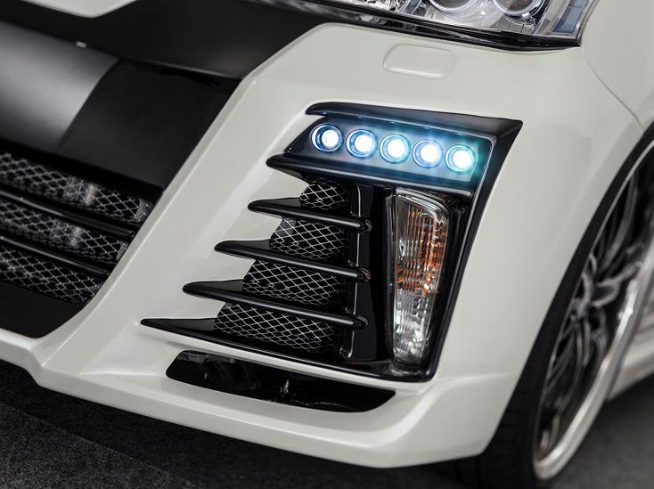 プリウスα DAA-ZVW40W・41W 前期 LEDスポットキット 5連 ベルタ admiration/アドミレイション