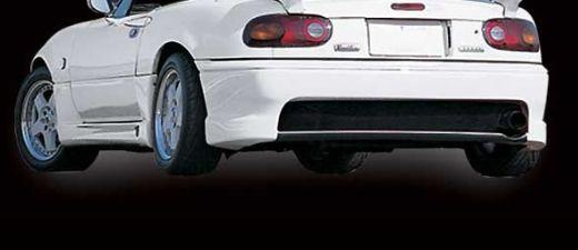 ロードスター NA6CE,NA8C スタイリッシュリアバンパースポイラー ネット付 WINDINGDANCER ガレージベリー