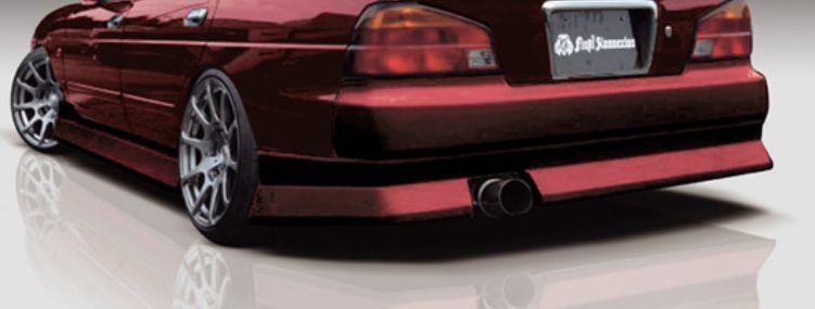 ローレル C35 メダリスト MC前 リアバンパースポイラー 塗装済 FIRST CONTACTシリーズ FINAL KONEXION(ファイナルコネクション)