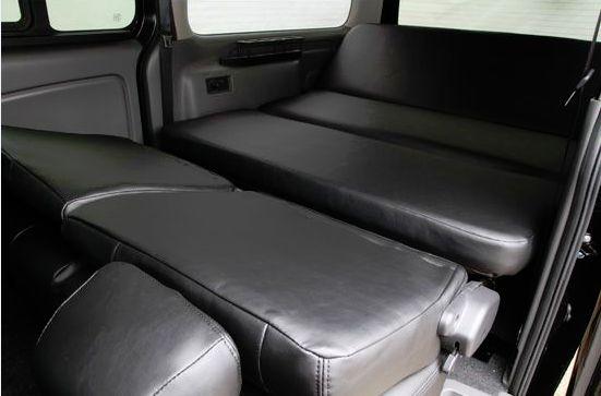 NV350 キャラバン専用 プレミアムGX ダブルリクライニングベッドキット シンケ/SHINKE ※個人宅様配送不可