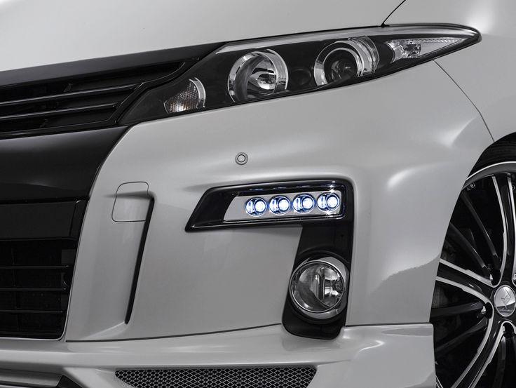 エスティマ GSR/ACR50・55/AHR20W 後期 LEDスポットKIT 4連 塗装済 デポルテ アドミレイション