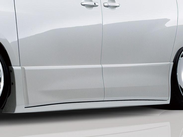 ヴェルファイア GGH/ANH20・25/ATH20 後期 Z・ZRサイドステップ 塗装済 リチェルカート admiration/アドミレイション