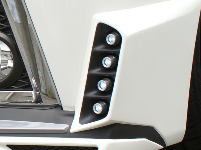 ヴェルファイア GGH・AGH30/35W・AYH30W 前期 Z/ZA/ZR スポットLEDランプセット(フロントハーフスポイラー用) ラグゼス AMS