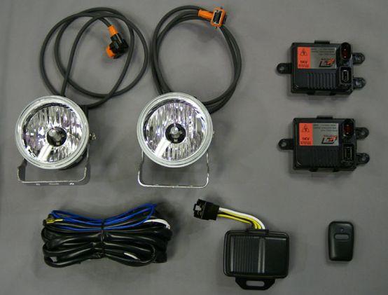 HID ライティングユニット 12V-クルージングビーム90φ DELTA/デルタ