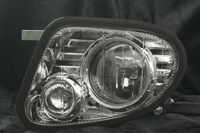 レクサス LS460L USF4# MC前 フォグライト プリズムシンク(フルクロームタイプ) MP PHANTOM GAMU-REGALIA ブローデザイン