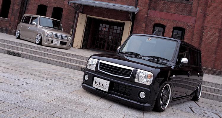 ラパン HE21S フロントグリル 塗装済 KLC Premium STANDARD MODEL