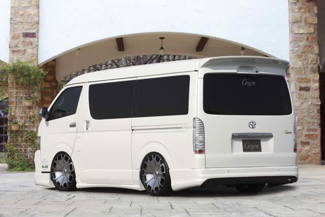 ハイエース ワイド S-GL KDH200V 3型 リアバンパー 塗装済 クレイブ
