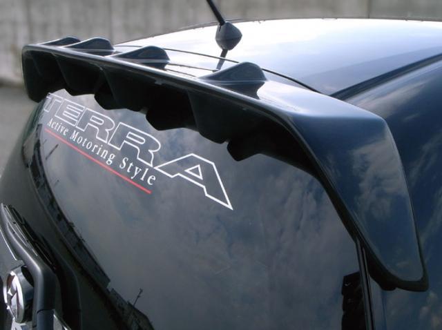 フィット 後期/ハイブリット GE6~9・GP1 ルーフウイング 塗装済 TERRA AMS