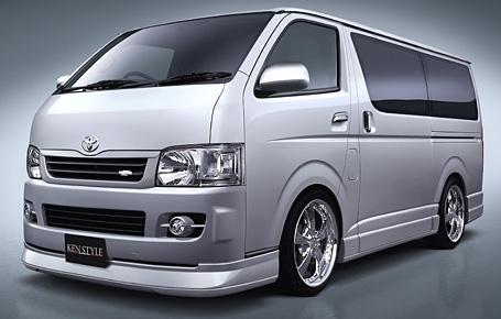 ハイエース KDH200V/TRH200V サイドスカート&ドアパネル 塗装済 URBAN ケンスタイル