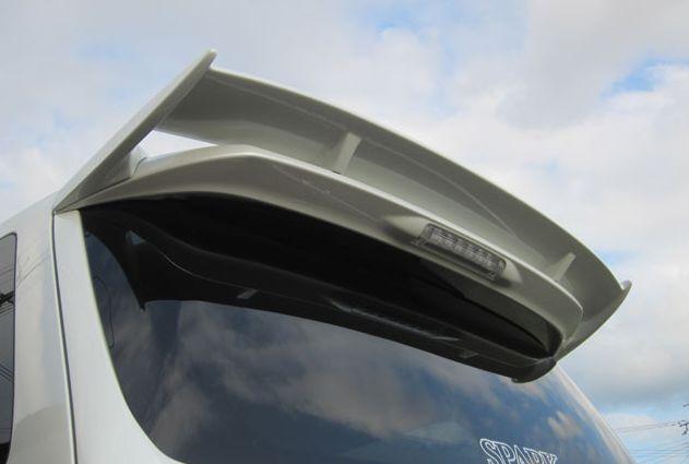 アルファード 20系 前期 Sグレード リアウイング 塗装済 ジュール シックスセンス