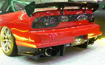 180SX TYPE-GT リアバンパースポイラー URAS